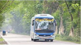 royel express bus in bd